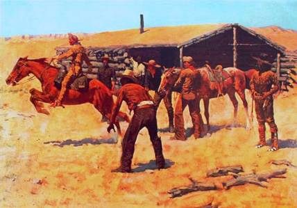 Pony Express - Frederic Remington