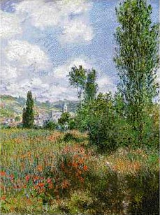Poppy Fields at Saint Martin Isle - Claude Monet