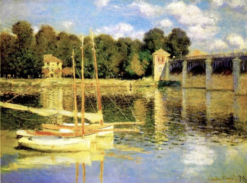 Port at Argenteuil - Claude Monet