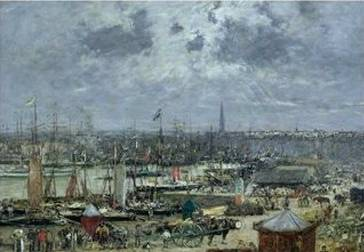Port of Bordeaux - Eugene Boudin