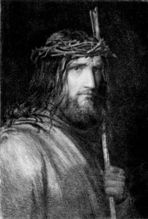 Portrait of Christ - Carl Bloch