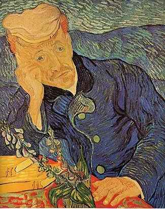 Portrait of Doctor Gachet - Vincent van Gogh