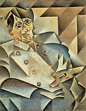 Portrait of Picasso - Juan Gris