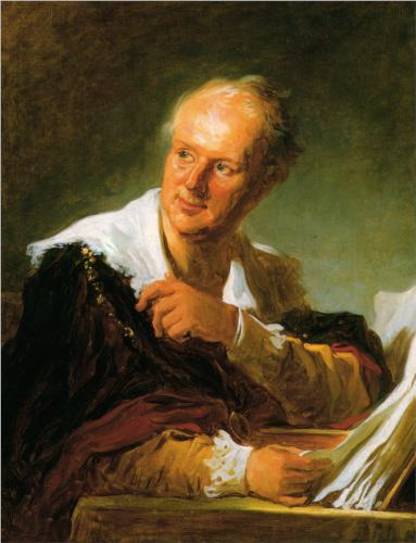 Portrait of a Man - Jean Honore Fragonard