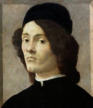 Portrait of a Man - Sandro Botticelli