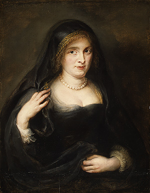 Portrait of a Woman - Peter Paul Rubens