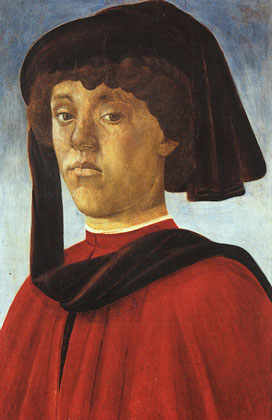 Portrait of a Young Man - Sandro Botticelli