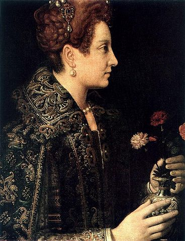 Portrait of a Young Woman - Sofonisba Anguissola