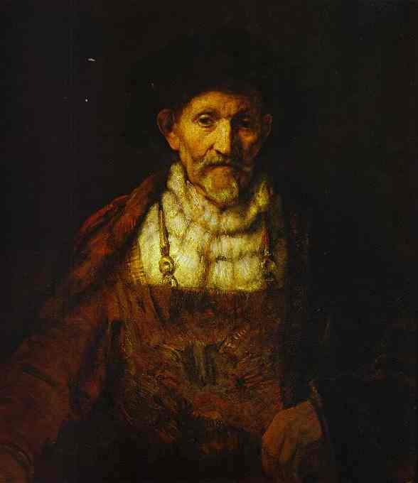 Portrait of an Old Man - Rembrandt van Rijn