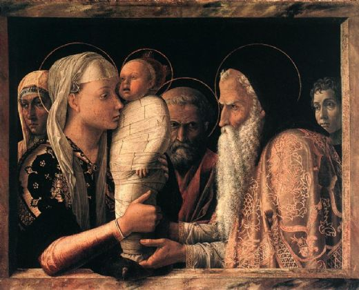 Presentation at the Temple - Andrea Mantegna