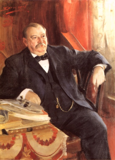 President Grover Cleveland - Anders Zorn
