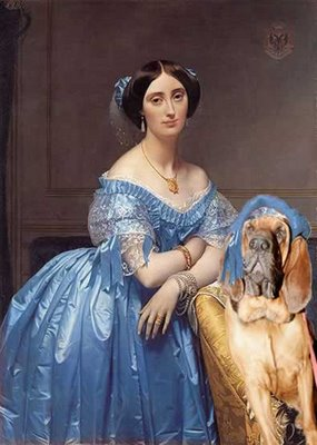 Princess de Broglie - Jean Auguste Dominique Ingres