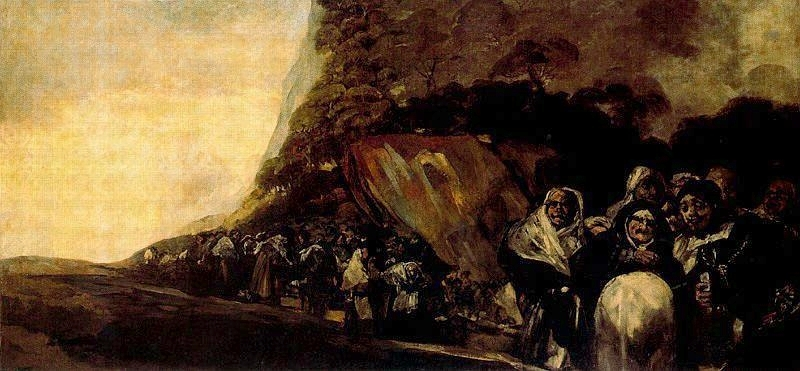 Procession of the Holy Office - Francisco Goya