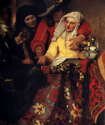 Procuress - Jan Vermeer van Delft