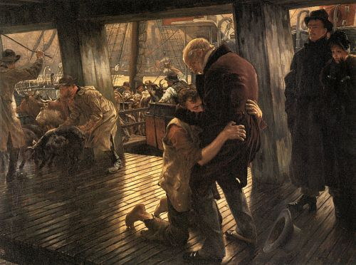Prodigal Son: The Return - James Tissot