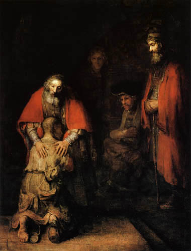 The Prodigal Son - Rembrandt van Rijn
