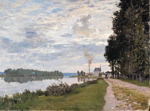Promenade at Argenteuil - Claude Monet