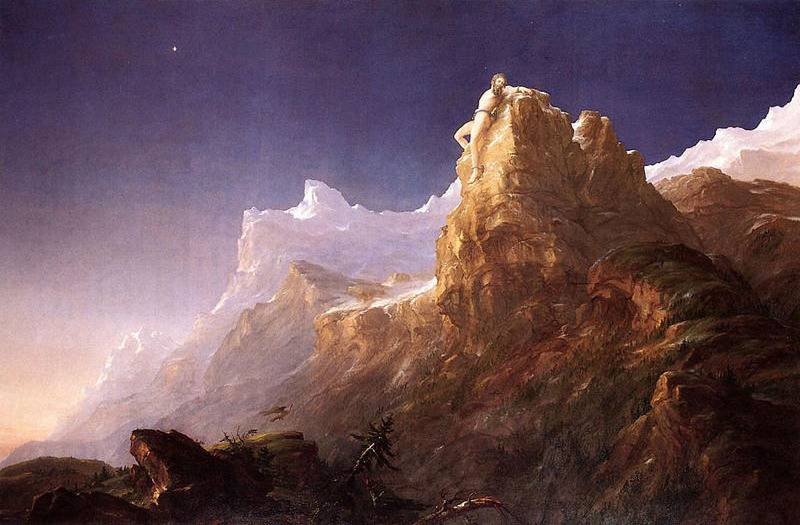 Prometheus Bound - Thomas Cole