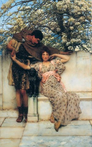 Promise of Spring - Lawrence Alma Tadema