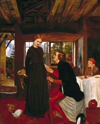 The Proposal (The Marquis and Griselda) - Frederic George Stephens