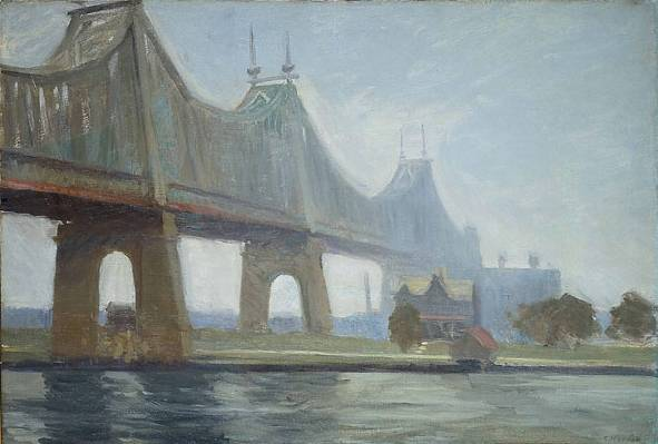 Queensborough Bridge - Edward Hopper