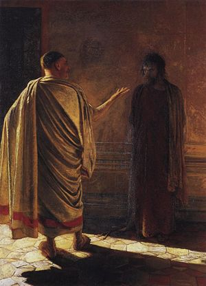 Quod Est Veritas? Christ and Pilate Nikolay Gay