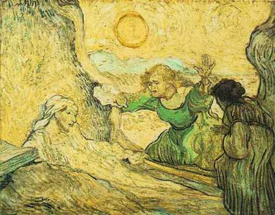Raising of Lazarus - Vincent van Gogh
