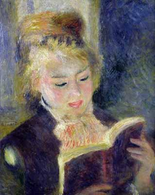 Reading - Pierre Auguste Renoir