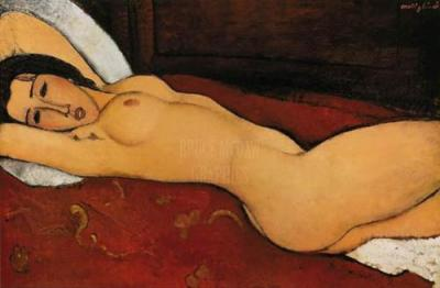 Reclining Nude - Amedeo Modigliani