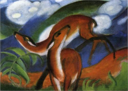 Red Deer - Franz Marc