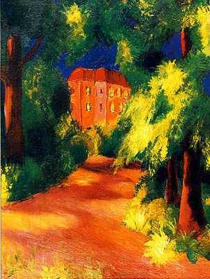 Red House - August Macke