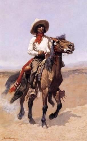 Regimental Scout - Frederic Remington