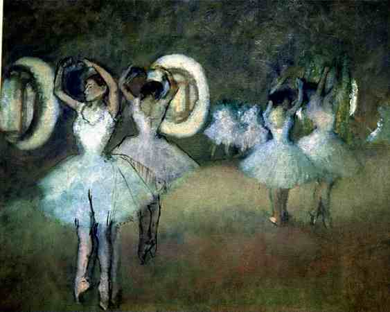 Rehearsal at the Opera - Edgar Degas