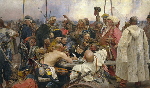 Reply of the Zaporozhian Cossacks - Ilya Repin