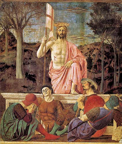 Resurrection - Piero della Francesca