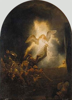 Resurrection of Christ - Rembrandt van Rijn