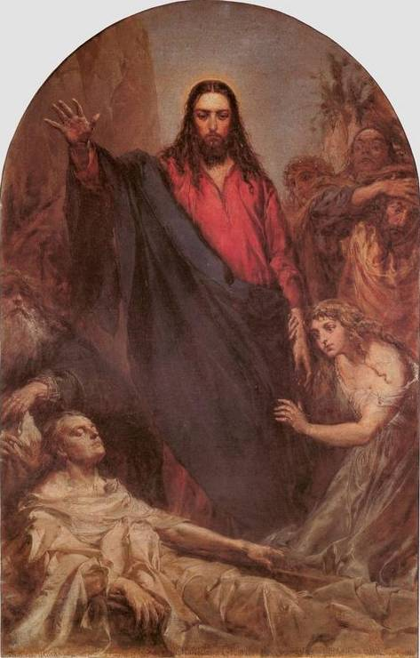 Resurrection of Lazarus - Jan Matejko
