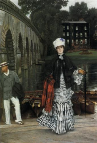 Return from the Boating Trip - James Tissot