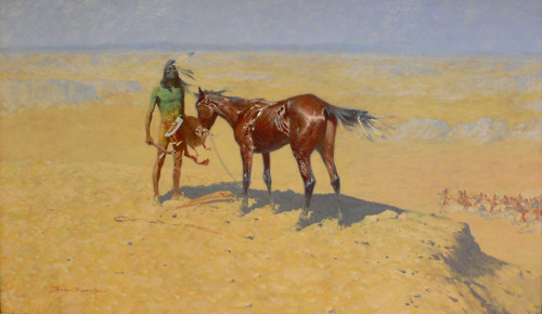 Ridden Down - Frederic Remington