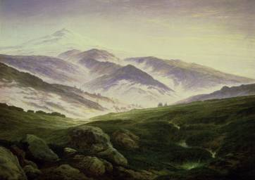 Riesengebirge - Caspar David Friedrich