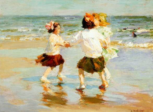 Ring Around the Rosy - Edward Henry Potthast