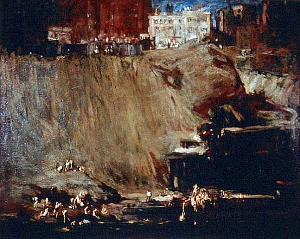River Rats - George Bellows