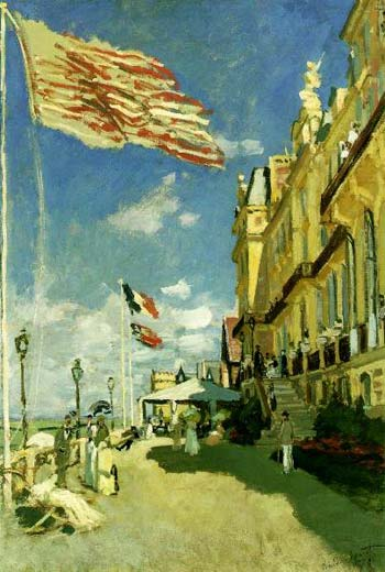 Roches Noires Hotel at Trouville - Claude Monet