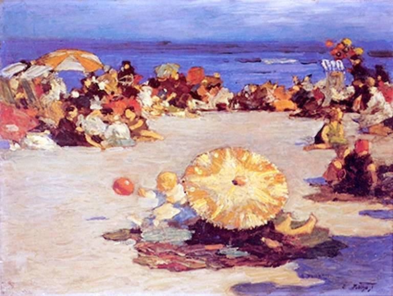 Rockaway Beach - Edward Potthast