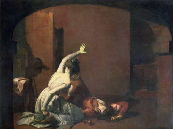 Romeo and Juliet - Joseph Wright of Derby