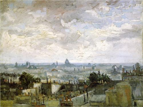 Roofs of Paris - Vincent Van Gogh