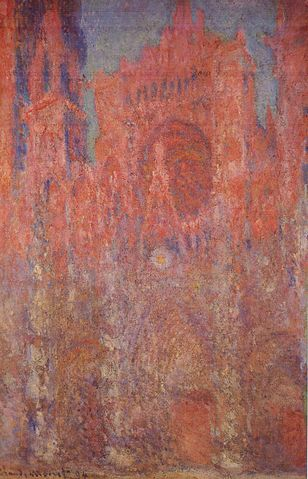 Rouen Cathedral facade 1892-1894 - Claude Monet
