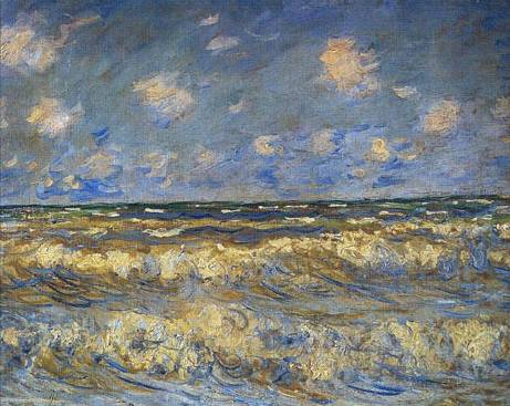 Rough Seas - Claude Monet