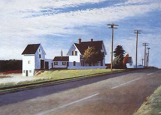 Route 6 Eastham - Edward Hopper
