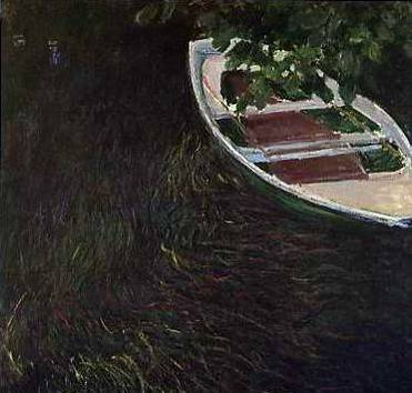 The Rowing Boat - Claude Monet